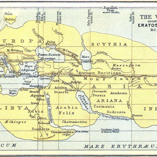 Earth acc. to Eratosthenes B.C. 220