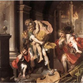 Yunan Mitolojisinin Roma Tarihine Kazandırdığı Kahraman,Aeneas (Αἰνείας)