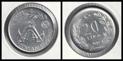 20 Lira FAO