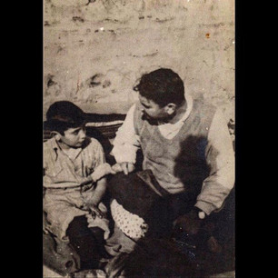 1930s Father and son