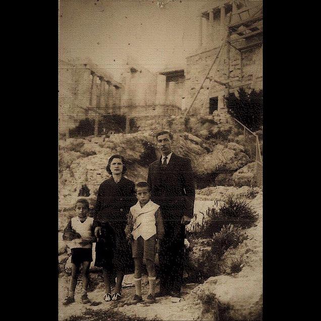 1930s Vafiadis Family in Acropolis