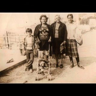 1970s Theodora and her grandchildren