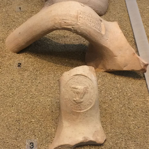 Damgalı Amfora Kulbu / Pella Arkeoloji Müzesi