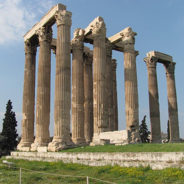 Olympian Zeus / Atina, Yunanistan