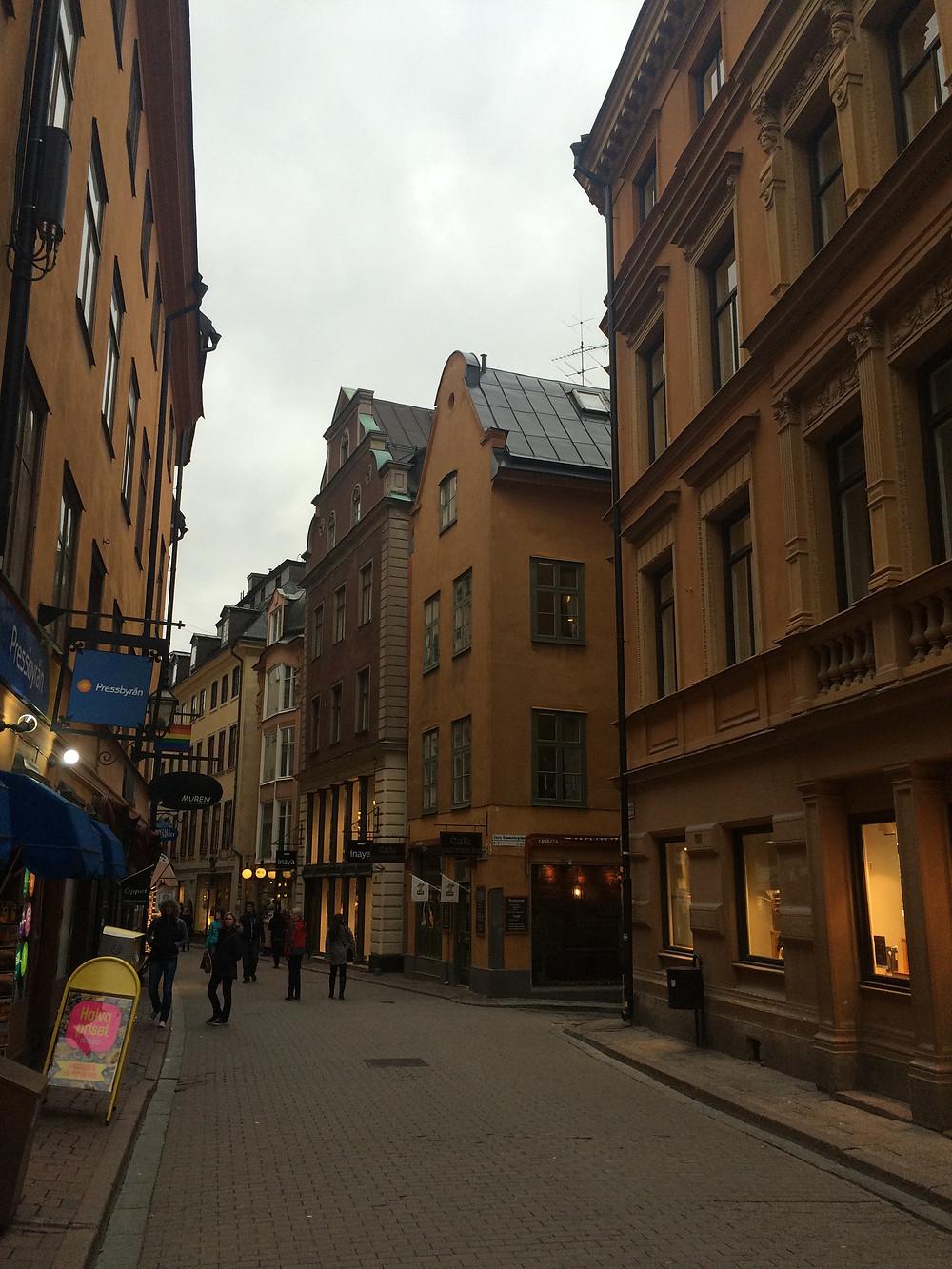 Gamla Stan streets - Stockholm, 2mi3