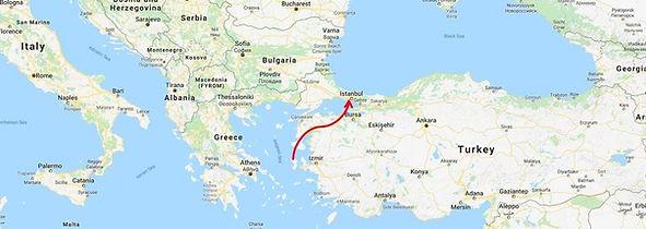 Map, Chios, Xios, Istanbul, Vafiadis