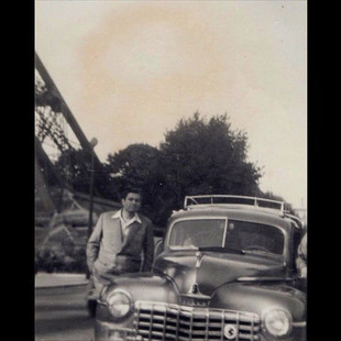 1950s The Cars We Drove, 1947 Dodge in Paris