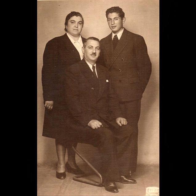 1940s Vafiadis Family, Foto Saray