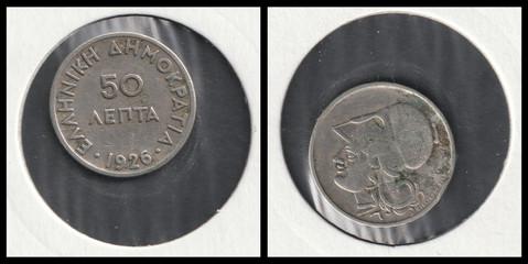 50 Lepta - 1926