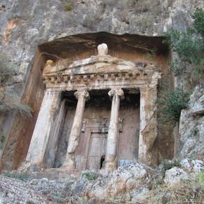 Likya Gezisi : Amyntas'ın Mezarı