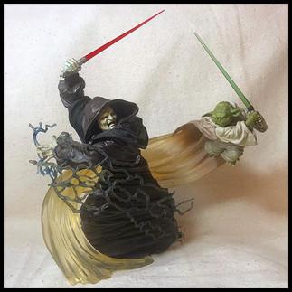 Star Wars - Palpatine vs. Yoda