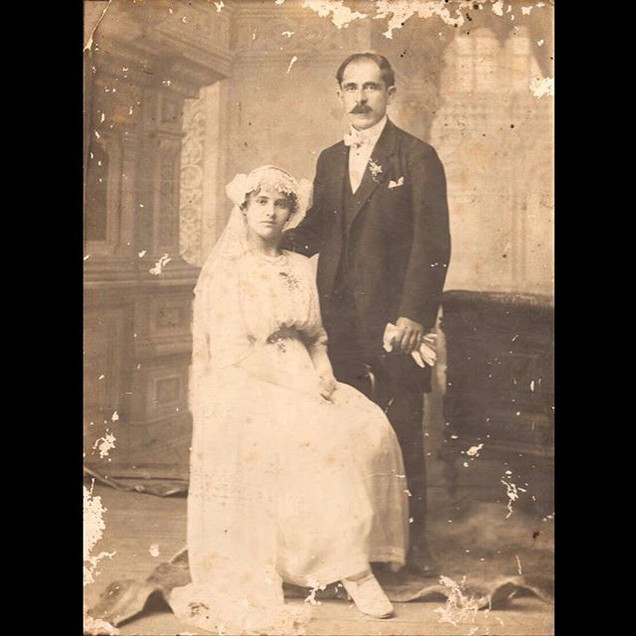1910s Liborio & Aspasia Sanzoni - Italian/Greek Wedding