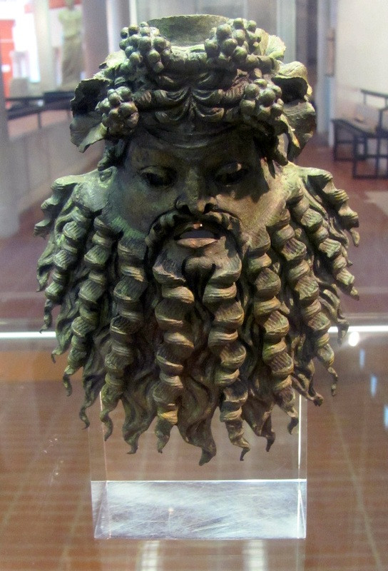 Silenus Mask Cimiez -2mi3-