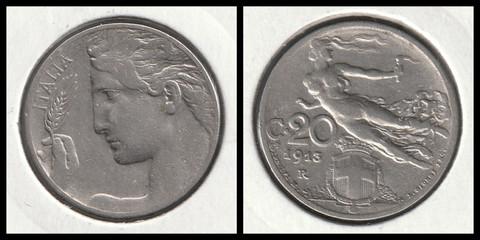 20 Centesimi - 1910
