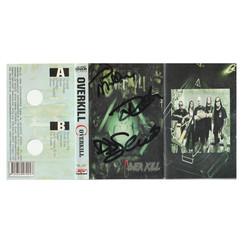 Overkill - Signed Album Cover