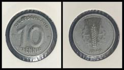 10 Pfennig - 1949