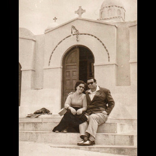 1950s Roadtrip to Europe / Lykavittos, Chapel of St.George