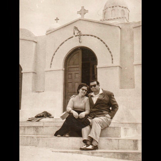 1950s Roadtrip to Europe / Lykavittos, Chapel of St.George