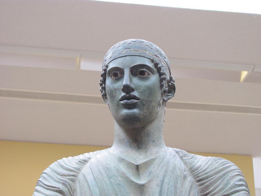 Charioteer 2mi3 Delphoi Head