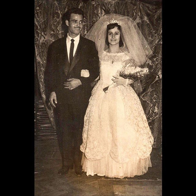 1960s Dimitri & Andonia Koulurgioti - Greek Wedding