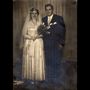 1950s Aleko & Cusepina Vafiadis - Greek/Italian Wedding