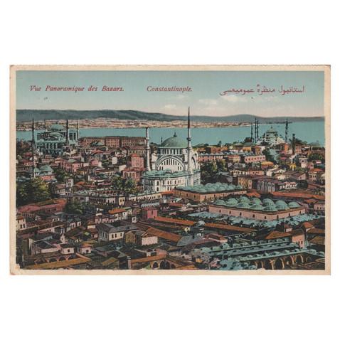 Bazaars of Constantinople, Panoramique