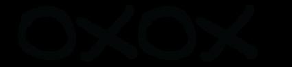 oxox logo with gender neutral stickman.