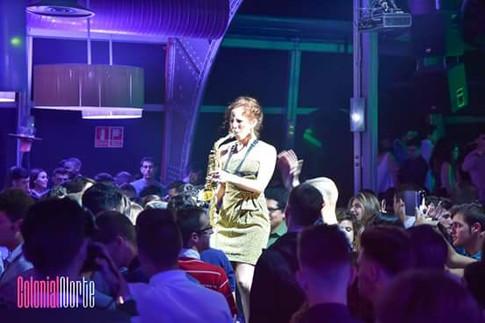 Nasha Sak | Saxofonista Femenina | Madrid | España