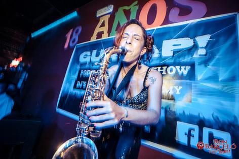 Nasha Sak | Saxo en directo | Discoteca en Toledo España