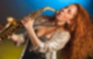 Nasha Sak. Female saxophonist. Saxofonista femenina. House Music. Electronic Music. Jazz music. Deep sax. Madrid. Europe. Spain. España.