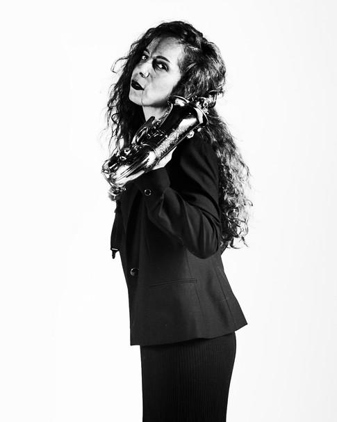 Nasha Sak | Woman saxophonist | Barcelona | España