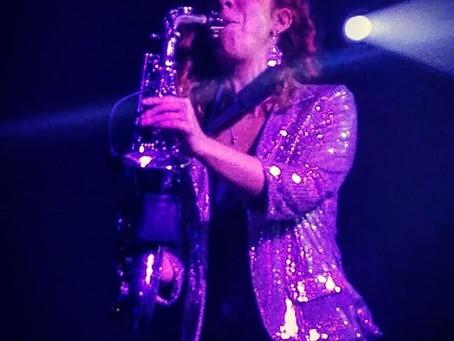 Mi saxo y yo ahora en Madrid, inauguración Discoteca Cue, Aranjuez