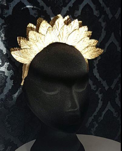 gold leaf crown de lew