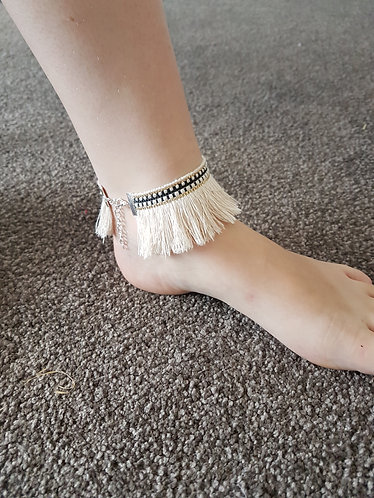 Fringed Anklet boho accessories australia