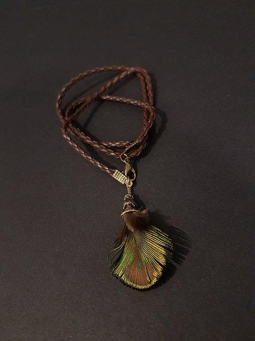 Boho Chic Plaited Leather Wrap Bracelet
