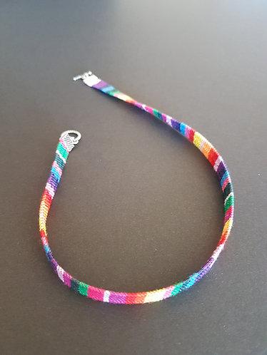 kaleidoscopic rainbow choker accessories australia