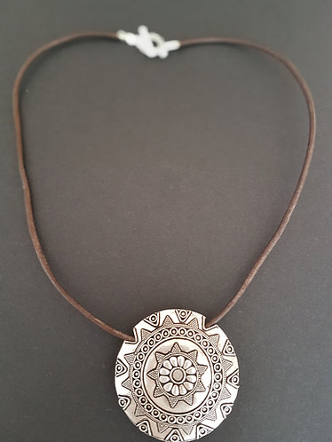 Inca Rolled leather Necklace accessories australia
