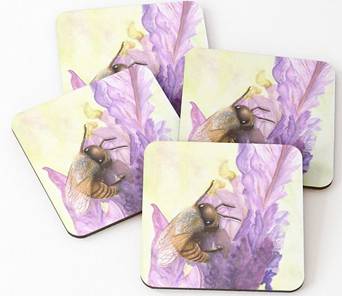 Bee Bliss - Coasters set of 4