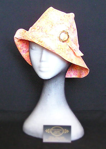 Fabric sun hat