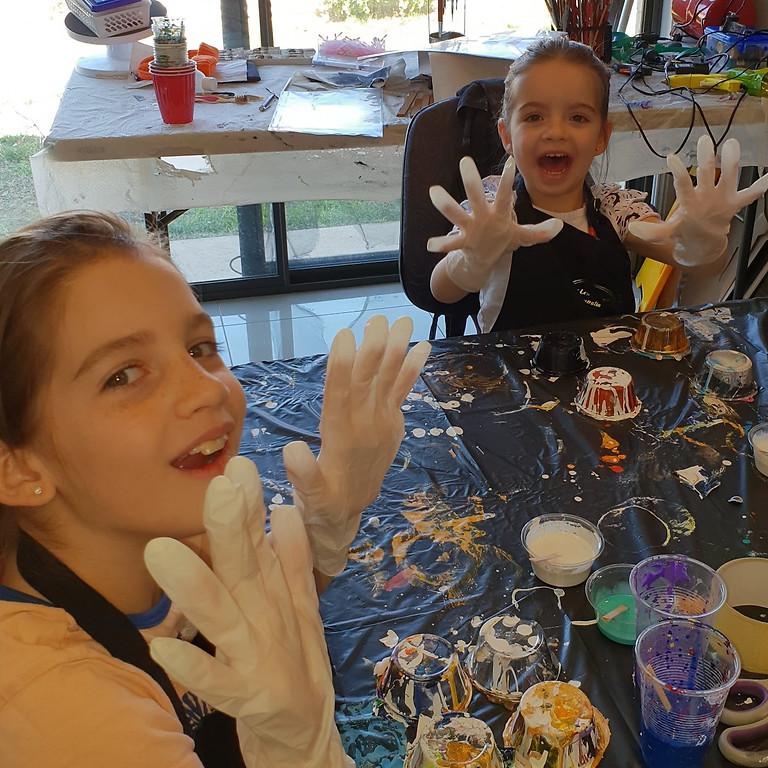 Kids weekly art workshop - Sunday 9am - 12pm
