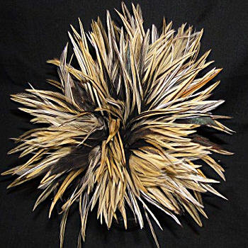 saddle hackle millinery feather de lew