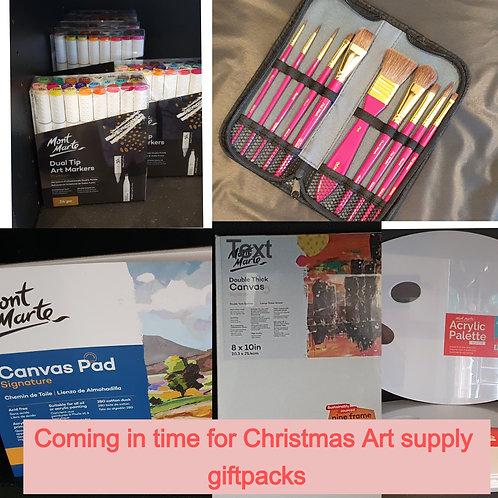 Christmas Art supply Gift packs