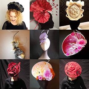 Millinery, Fascinators, crowns, spring raing carnval