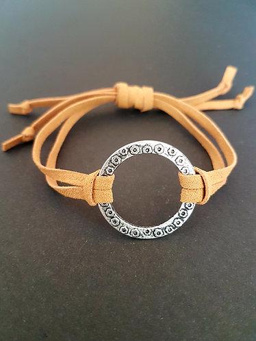 flat leather lacing slider bracelet accessories australia