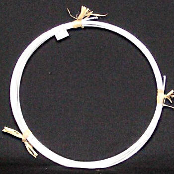 Millinery Wire White 54m roll