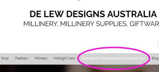 Introducing, De Lew workshops!