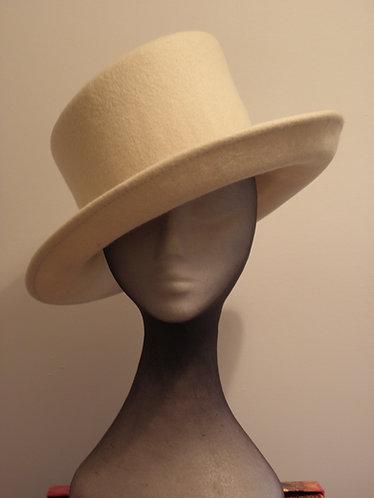 Machine Blocked 100% Wool Felt Hat Shape 1W