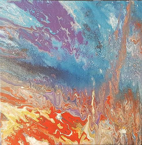 Jupiter  acrylic painting by Madison Lewis