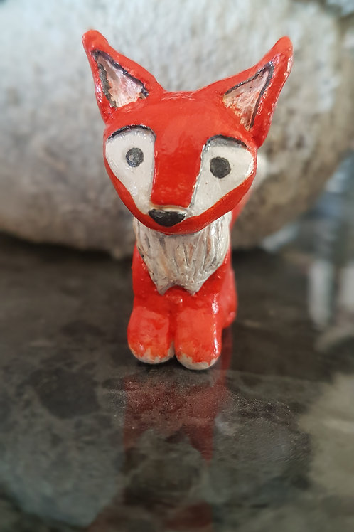 For fox sake fox sculpture