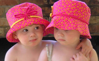 MILLINERY CHILDRENS Reduced Lucy and Lil